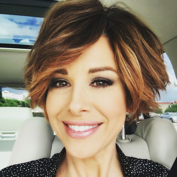 Short hairstyle new wavy pixie bob Dominique Sachse