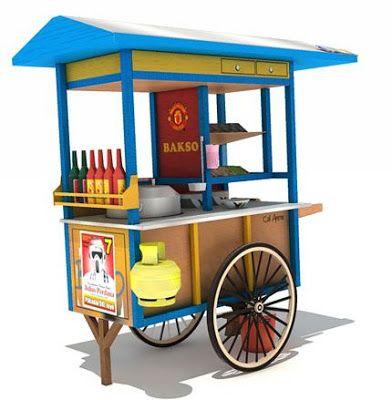 Las 25 mejores ideas sobre carritos de comida en pinterest for Imagenes de kioscos de madera