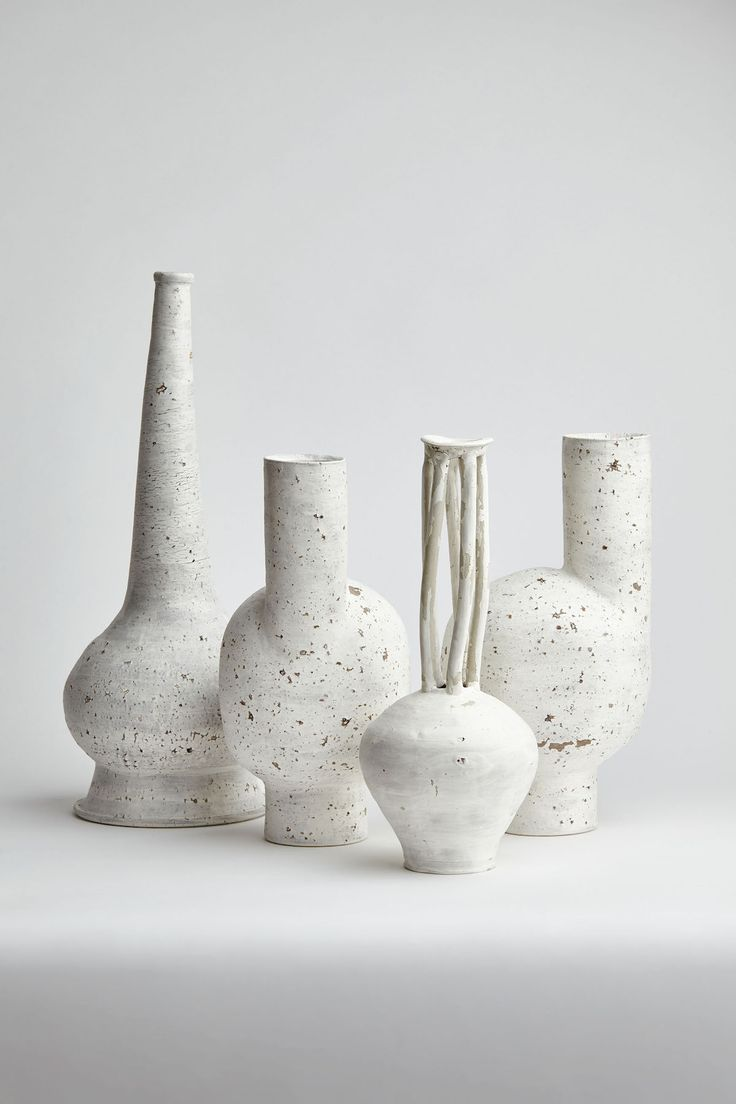 Image result for white clay vase