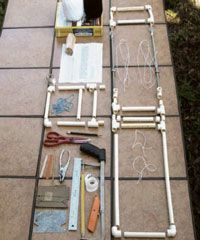 Free ebook with plans to build a PVC inkle loom as well as a few patterns free when it's complete