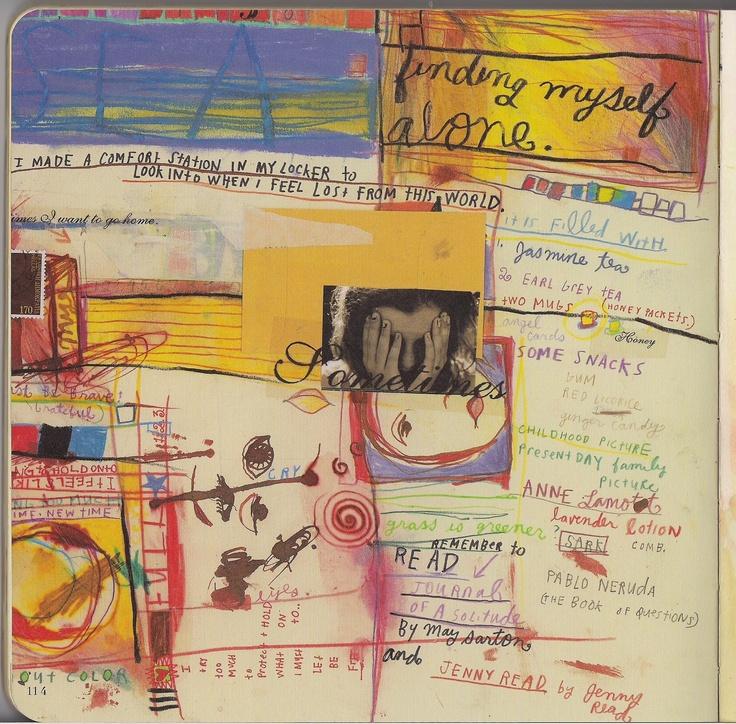 86 best Sabrina Ward Harrison images on Pinterest | Art ... Sabrina Ward Harrison Sketchbook