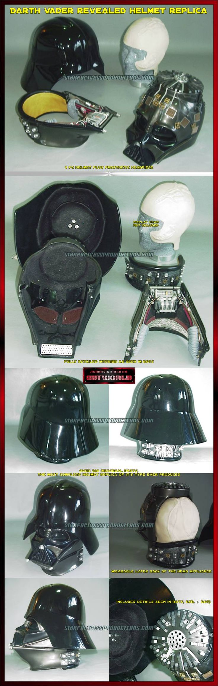 Darth Vader Helmet Blueprints Reveal His Inner Secrets - Bit Rebels