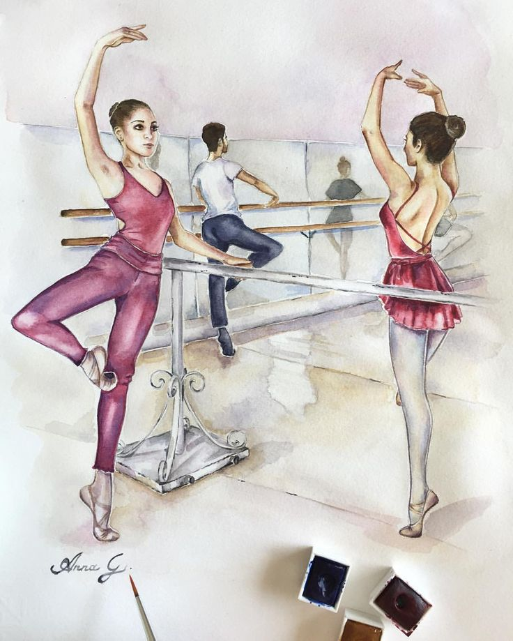 """""""Mi piace"""": 110, commenti: 24 - Anna G. (@anna_g_fashion) su Instagram: """"Signing my new Ballet class drawing ✍…"""""""