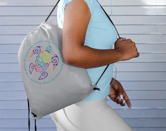 Beach Bag Backpack Beach Cinch Bag Personalized Beach Drawstring Backpack Personalized Beach Bag Ocean Beach Bag Kids Beach Bag