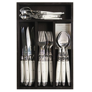 Who doesn't love a Laguiole cutlery set?! Available at DTLL.