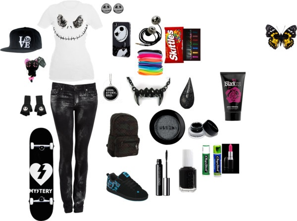 Cute Skater Girl Outfits Polyvore