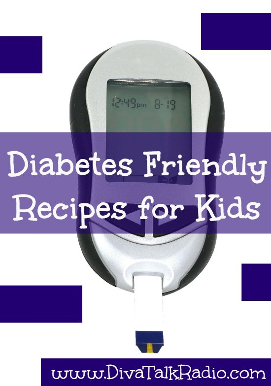 Diabetes Friendly Recipes for Kids - Find recipes that kids will eat that are diabetic friendly.