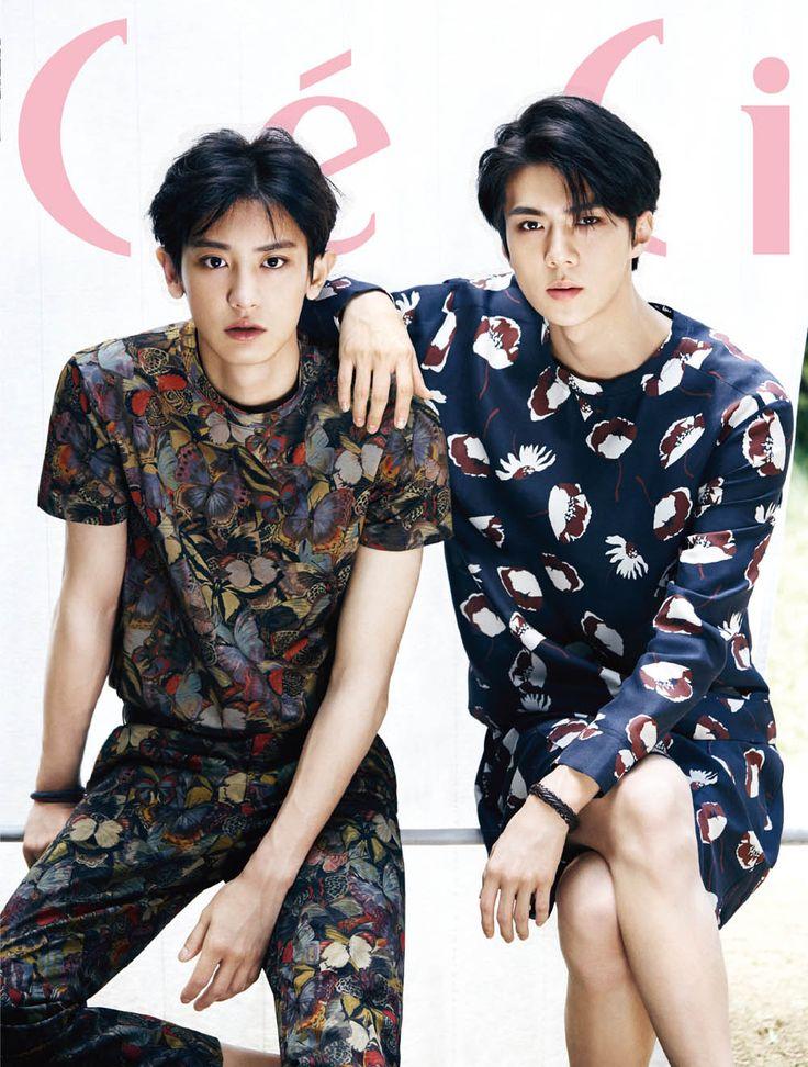#EXO Sehun, Chanyeol for CeCi August`15