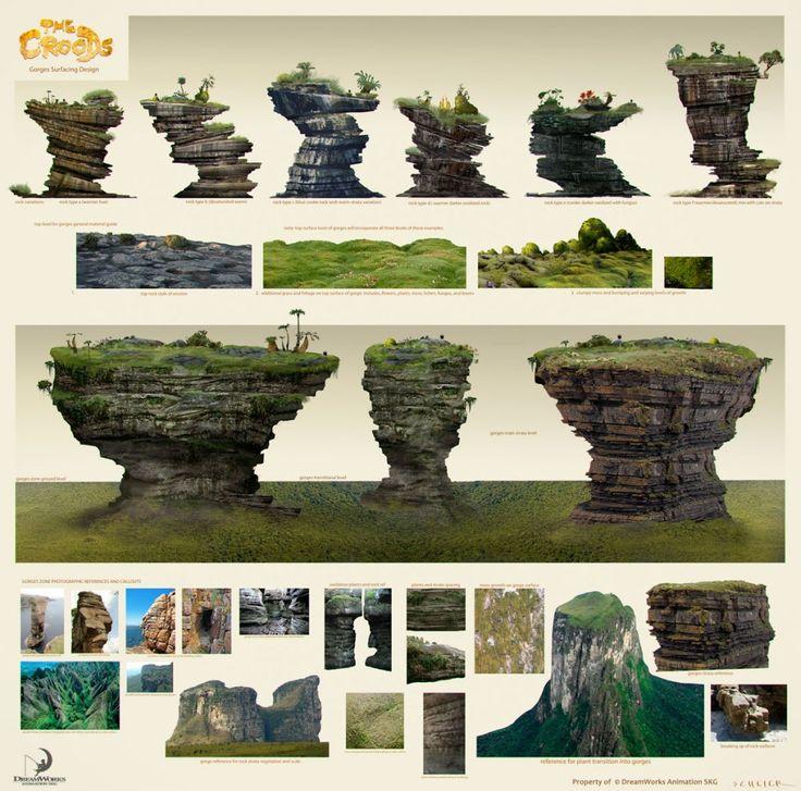 Desenvolvimento de The Croods, por Jason Scheier   THECAB - The Concept Art Blog