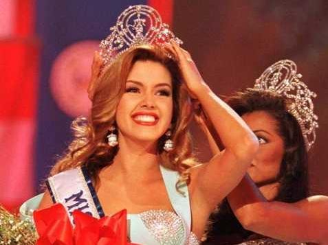 Alicia Machado, who was Miss Universe 1996