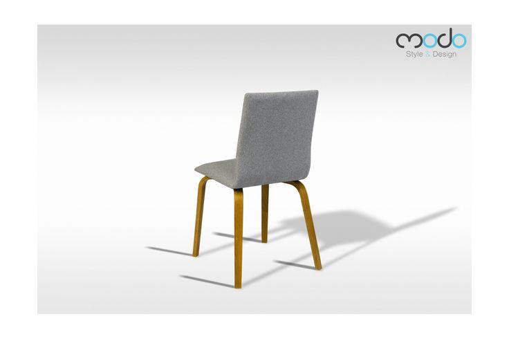 Krzesło Kalmar z drewnianymi nogami styl skandynawski krzesła tapicerowane