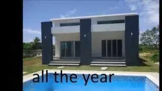New Villa for sale in Sosua Dominican Republic - YouTube