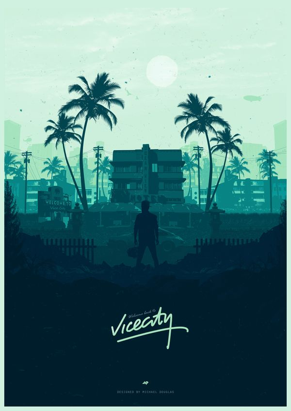Some cool posters gaming, Фильмы, Hotline Miami, нуар, posters, Michael Douglas, арт, длиннопост