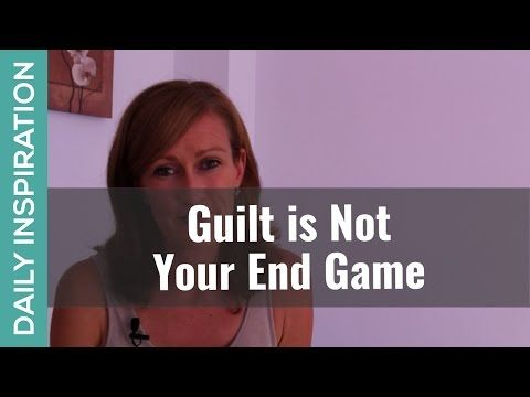 """Guilt is Not Your End Game ❤ SUBSCRIBE ❤ http://www.youtube.com/subscription_center?add_user=pinchmelivingdotcom Feeling guilty about something? It's time to have a major paradigm shift! Guilt is 100% not designed to be your """"end game"""". Instead, guilt is the ACCESS POINT to something much more important from a higher perspective. Click through for the full blog and a free audio download of affirmations for letting go of what doesn't serve you. https://www.pinchmeliving.com/feeling-guilty/"""