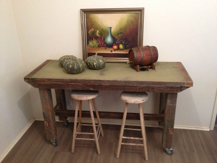 Vintage Industria Work Bench / Kitchen Island / Display Table See it on ebay :  http://www.ebay.com.au/itm/121378367785