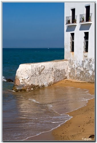 El malecón  Chipiona  Cádiz  Spain