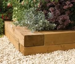 pressure treated wood edging - Google Search