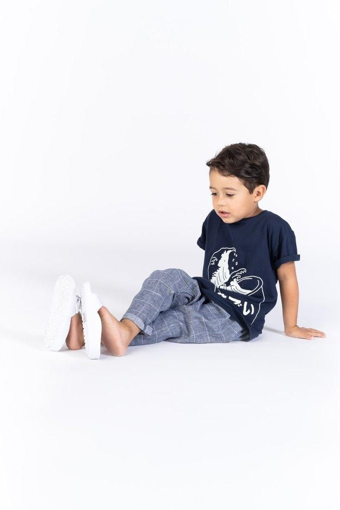 2f186dd0 ... these trousers in soft cotton-linen blend fabric are everything you  want for your kid: style and comfort. Great for boys and girls alike.  OMAMImini