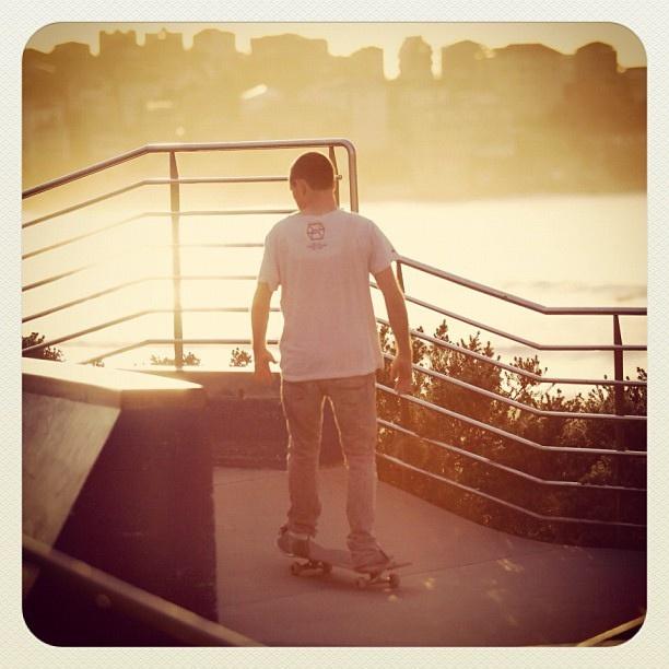 Bondi Solo Skate #atbondi #bondi #skate #sydney #skateboard