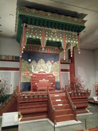 조선시대 어좌,National museum of korea