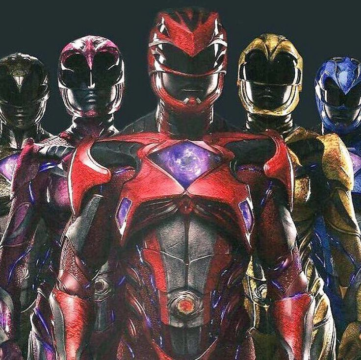NEW!!! Pic from the new Power Rangers Movie which will hit the big screen on March 24th 2017!!!