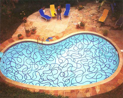 David Hockney Pool