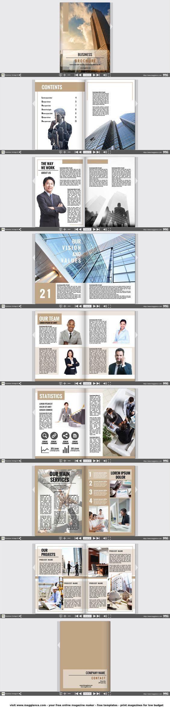 Fabuleux Oltre 25 idee originali per Copertina per brochure su Pinterest  NY74