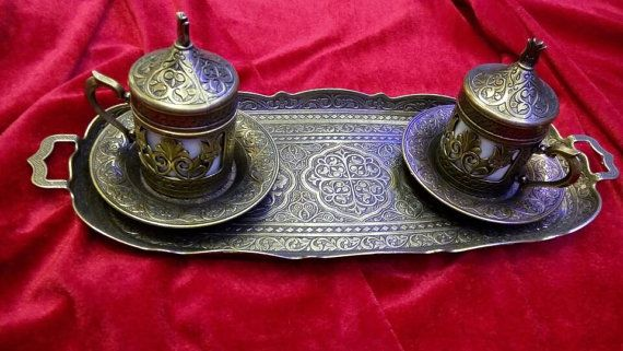 Coffee set mug/coffee service/Housewares /Handmade Coffee