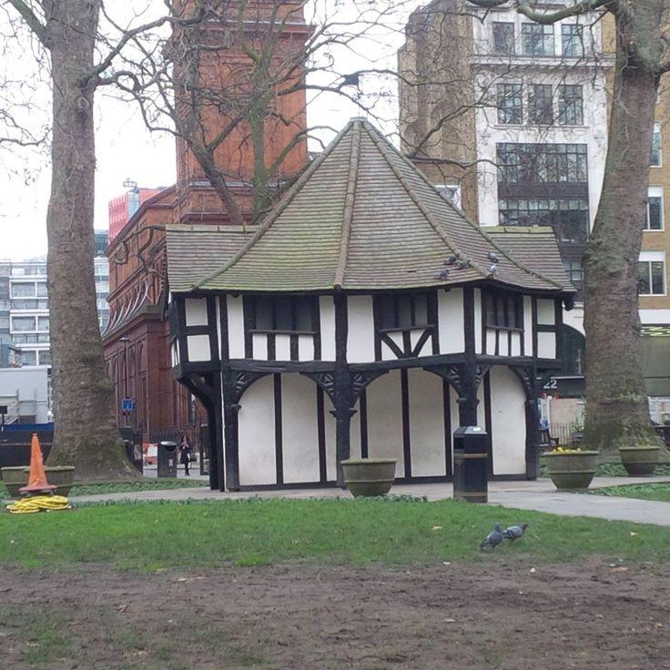 Soho Square in Soho, Greater London