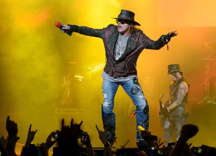 BLITZ – Guns N' Roses gozam com Steven Tyler, dos Aerosmith