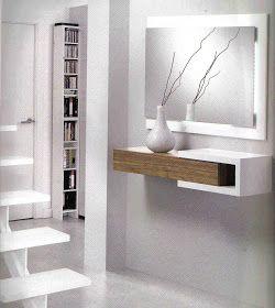 muebles para entradas pequeñas,recibidores pequeños