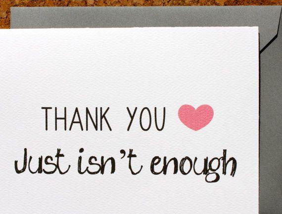 A heartfelt message to show your endless appreciation.