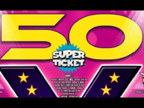 $10 50X SUPER TICKET! TEXAS LOTTERY SCRATCH OFF TICKET - http://LIFEWAYSVILLAGE.COM/lottery-lotto/10-50x-super-ticket-texas-lottery-scratch-off-ticket/