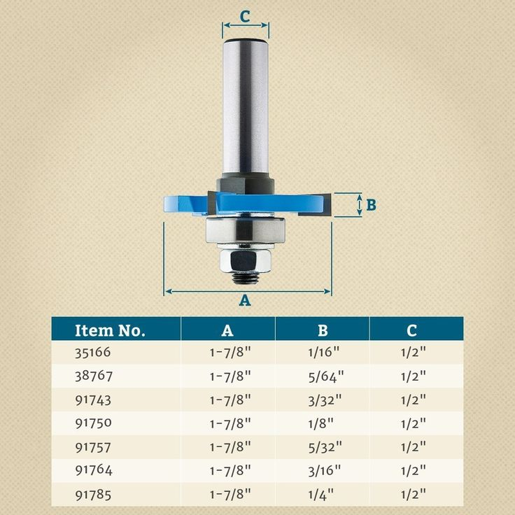 """1/2"""" Shank 3 Wing Slotting Cutters Router Bits 