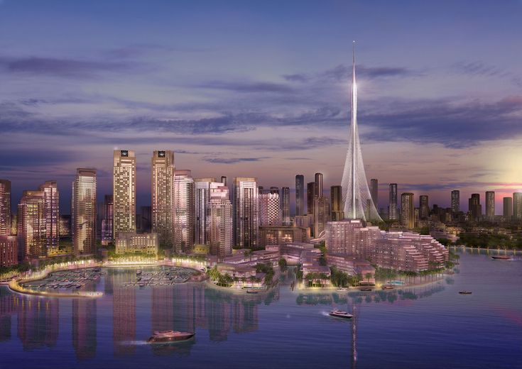 The Tower DCH / Dubai (Gallery) - Santiago Calatrava – Architects & Engineers