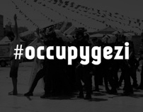 Typographic #Occupygezi memories