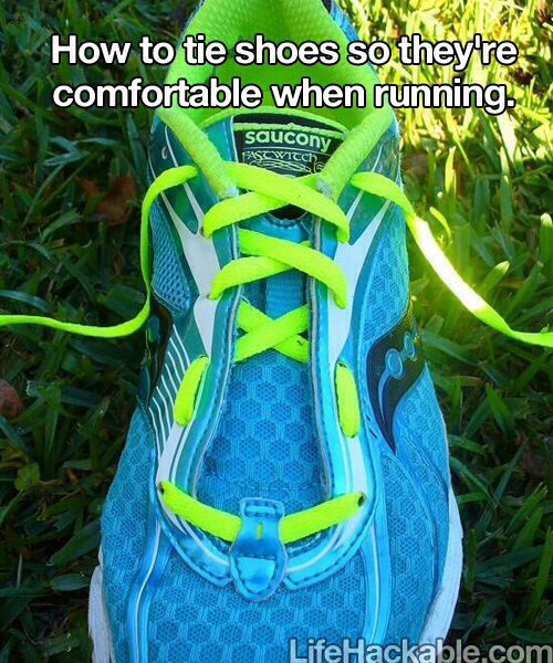 Comfortable running ties. must try