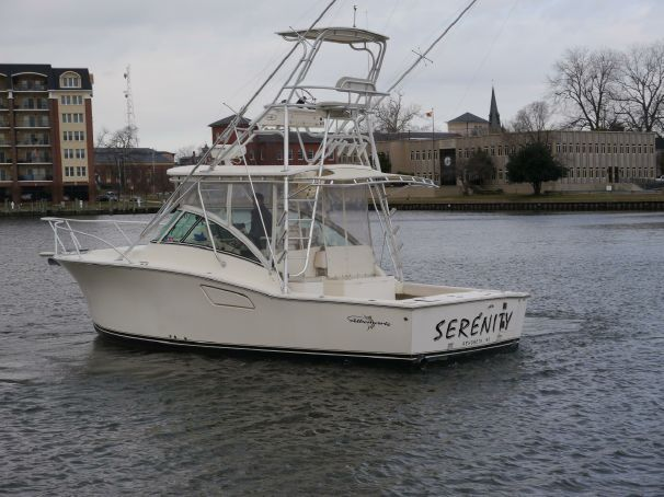 2004 Albemarle 310 Express Fisherman Power Boat For Sale - www.yachtworld.com 300 hrs on cats 300hp