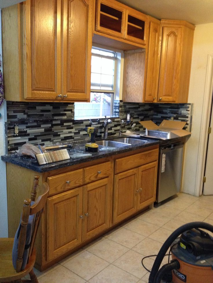 1000+ images about Kitchen on Pinterest  Oak cabinets, Kitchen