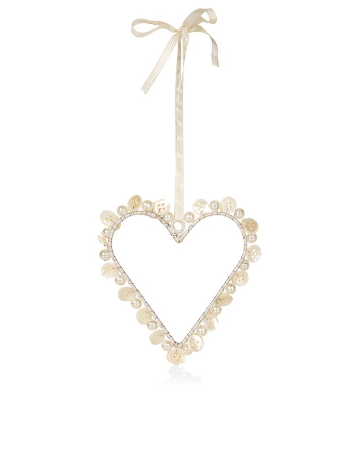 Pearl Heart Decoration