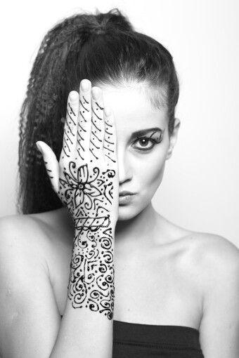 Just a simple henna art