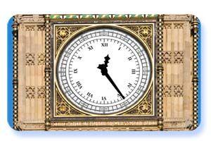 zegar cyfry rzymskie