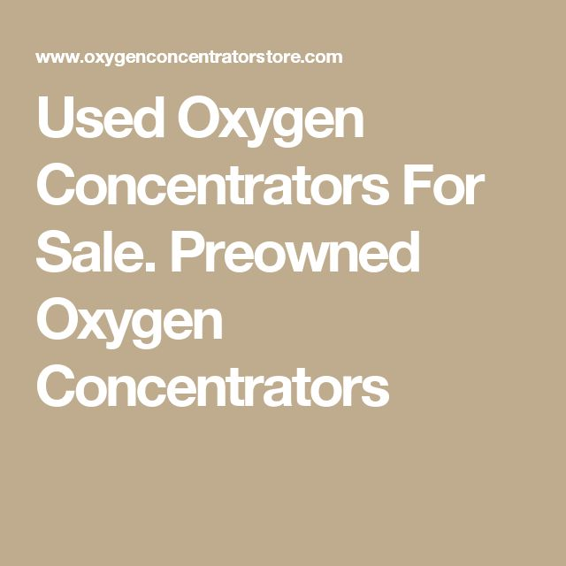 Used Oxygen Concentrators For Sale. Preowned Oxygen Concentrators