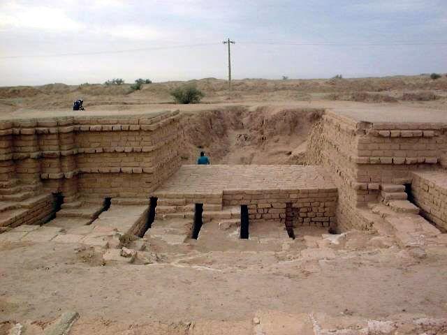 Chogha Zanbil water system