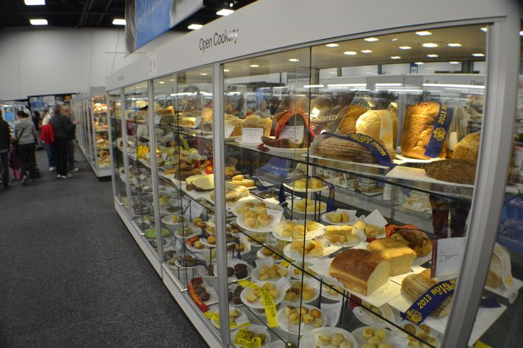 The Cookery cabinets always look so delicious at the Royal Adelaide Show!
