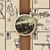Battle Scene Watch by I Love Ugly - $95