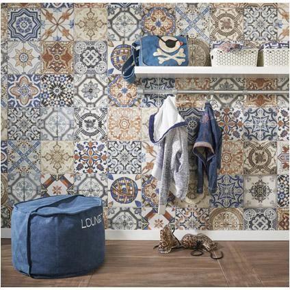 Wand- en vloertegel Nikea 20 x 20cm per 1m2 praxis