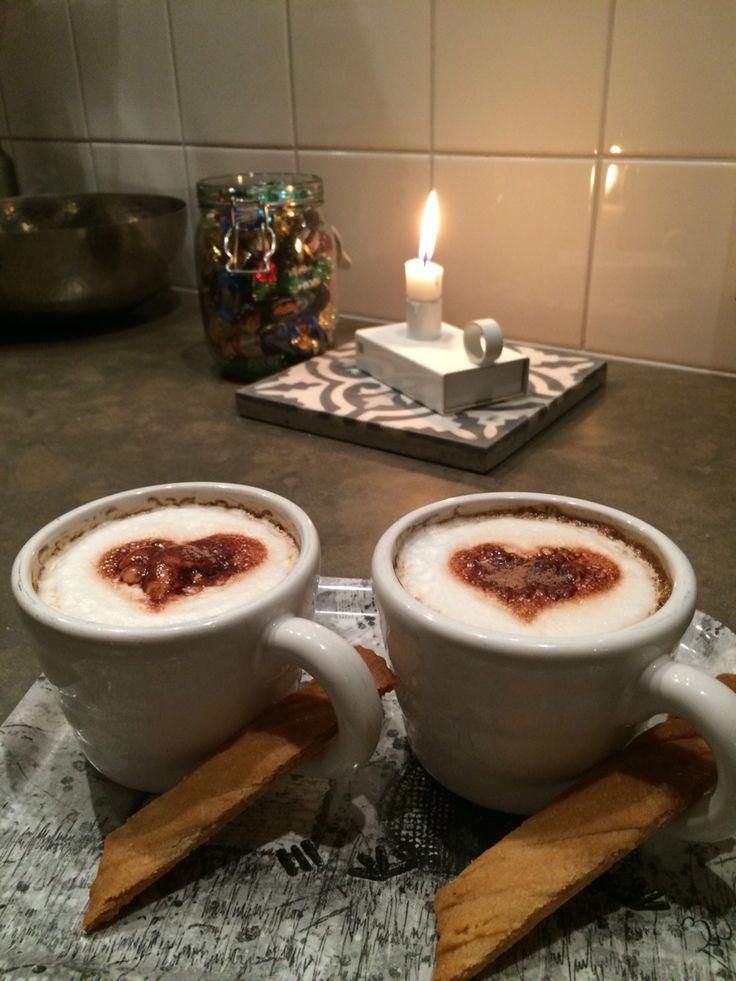 Kaffe för två ❤️❤️