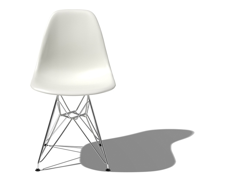 Eams molded plastic chair with Wire Base... timeless. !