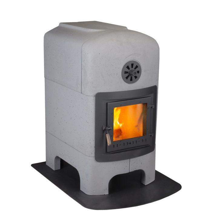 stone stove by Van Hoff